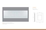 Стеновые панели под покраску ЛДФ Ultrawood Uw 410